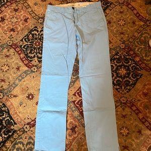 Men's h&m slim cut cotton pants